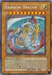 Yu Gi Oh Card Rainbow Dragon