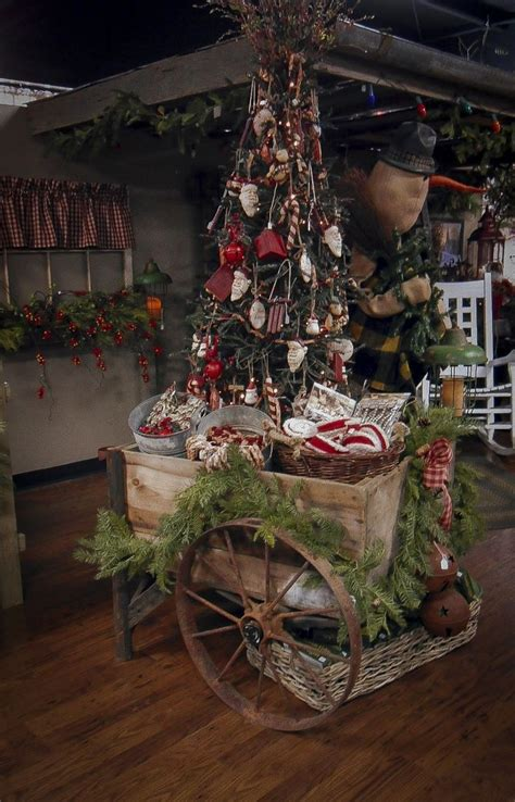country christmas trees ideas  pinterest
