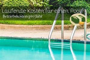 Pool Kosten Im Jahr : laufende kosten f r einen pool betriebskosten im jahr ~ Watch28wear.com Haus und Dekorationen
