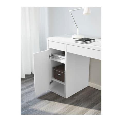 ikea computer desk workstation white micke micke desk white 105x50 cm ikea
