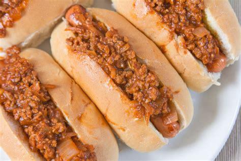 carolina chili dogs oamc recipe genius kitchen