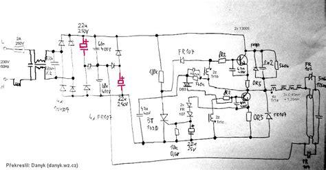 Rectifier Serial Capacitors Electronic Ballast