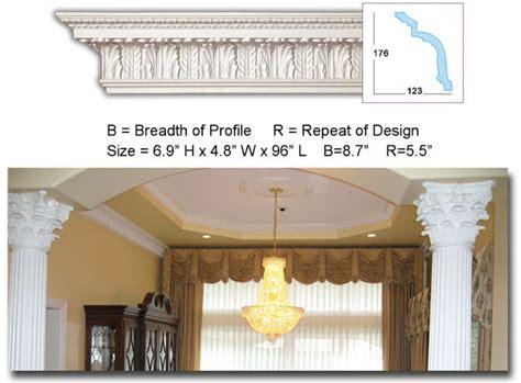 ceiling design kitchen cm 2034 architectural crown molding 2034