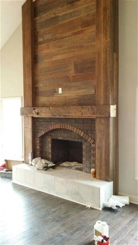 how to update a brick fireplace best 20 fireplace update ideas on brick