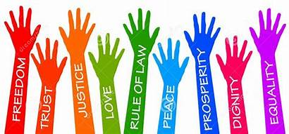 Values Christian Freedom Peace Care Dignity Today