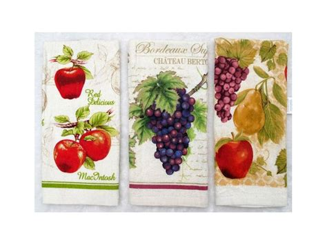 Kitchen Towels Wholesale by Wholesale Printed Kitchen Towel Set