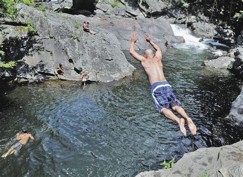 Cliff Jumping The Sinks Smoky Mountains by Take A Hike But There S More To Explore