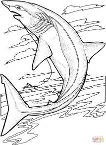 lemon shark coloring page images