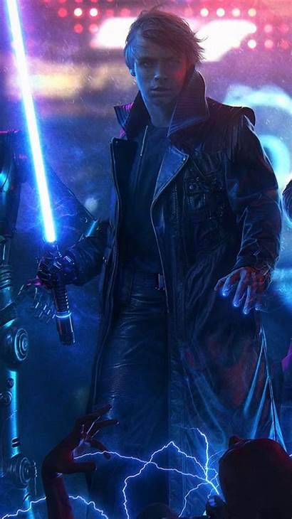 Wars Luke Star Jedi Skywalker Concept Princess