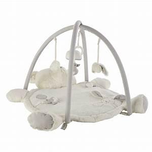 Tapis d'éveil ourson en coton 60 x 90 cm GASPARD Maisons du Monde