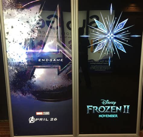 cinemacon   posters including avengers sonic