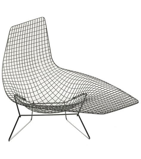 chaise knoll bertoia asymmetric armchair knoll milia shop