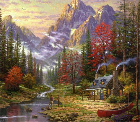 Paysage D'automne En 3d