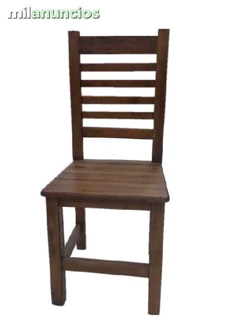 mesa de madera  sillas baratas milanuncios