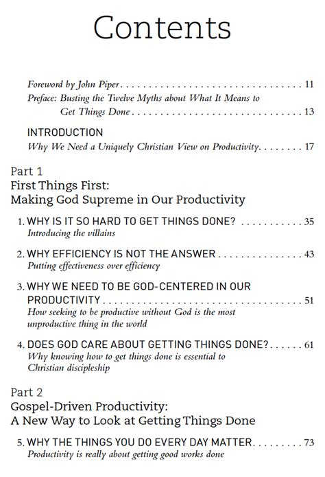 what is a table of contents the table of contents for what 39 s best next what 39 s best next