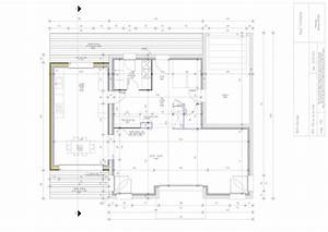 plans d39une extension de maison en ossature bois With plan d agrandissement de maison
