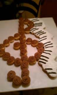 Treble Clef Cupcake Cake