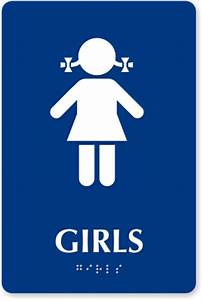 Girl bathroom sign clipart best for Girls bathroom symbol
