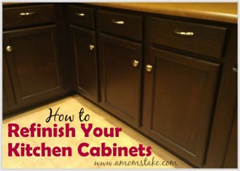 how to refinish your kitchen cabinets how to refinish stain kitchen cabinets tip junkie 8860