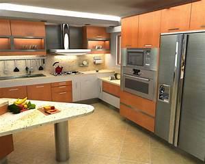 Cocinas, Modernas