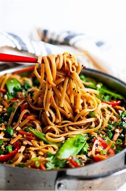 Fry Noodle Stir Thai Spicy Noodles Recipe
