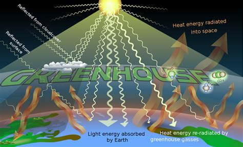 Green House Gasses by Greenhouse Effect