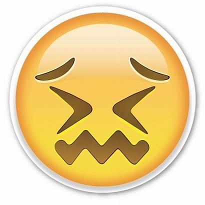 Emoji Face Confounded Emojis Smiley Emoticon Stickers