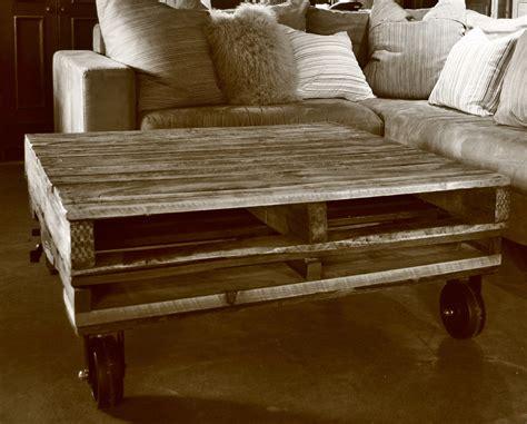 meuble en palette vieux bois bois recycle de style