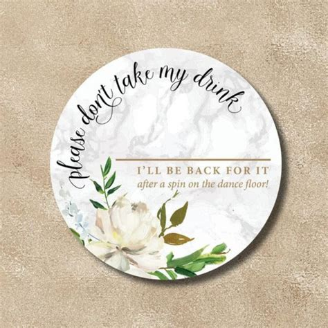 coaster drink shield  dont   drink