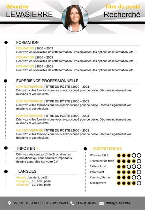 Cv Professionnel Gratuit Format Word by Cv Professionnel Gratuit Format Word Px54 Jornalagora