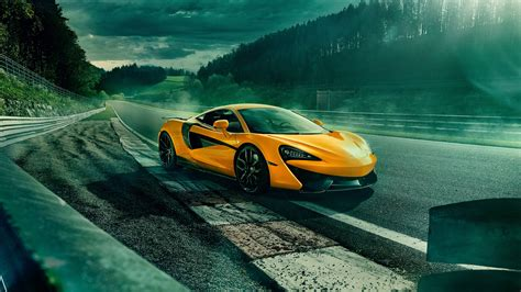 Mclaren 570s Spider 4k 2018 Wallpaper