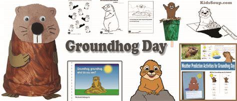 groundhog day preschool and kindergarten activities kidssoup 991 | Groundhog Day Activities Crafts
