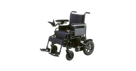 folding power wheelchair cirrus plus with footrest