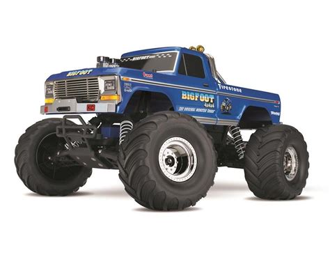bigfoot 5 monster truck toy tra36034 1 traxxas quot bigfoot no 1 quot original monster rtr 1
