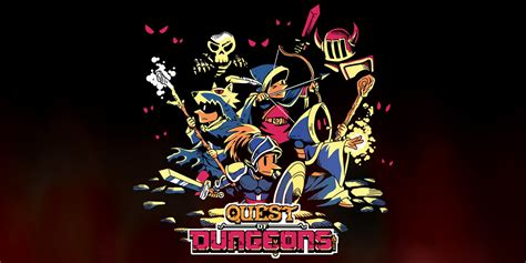 quest  dungeons nintendo switch  software