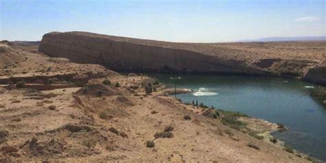 geger kemunculan danau misterius  tengah gurun dreamcoid