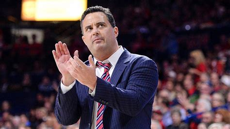 Sean Miller of Arizona gets standing ovation in return to ...