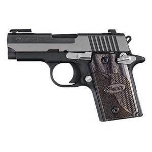 Sig Sauer P938 Equinox Two-Tone 9mm 3-inch 6Rds
