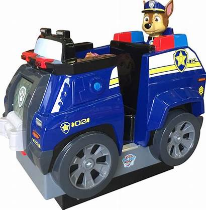 Paw Patrol Ride Chase Kiddie Betson Coin