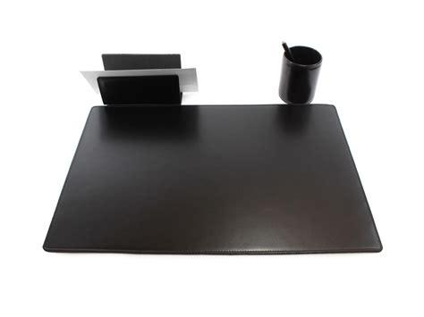 sous mains de bureau sous de bureau en cuir noir