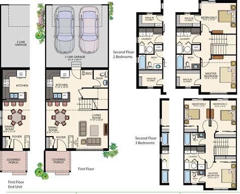 floor plans 200k affordable rowhomes in stapleton priced under 200k bluebird real estate group