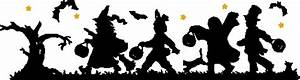 Trick or Treaters border svg updated   SVG files   Pinterest