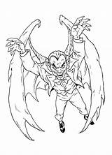 Vampire Coloring Dracula Boys sketch template
