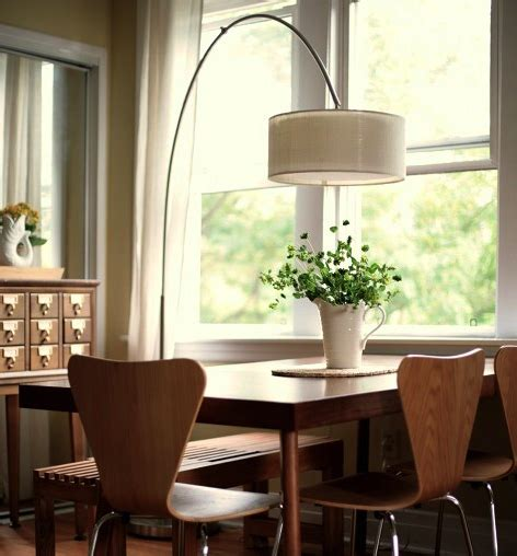 styling idea  floor lamp  table dining table