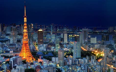 Cityscape, Japan, Tokyo, Tokyo Tower Wallpapers Hd