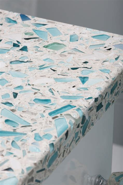 recycled glass countertops vetrazzo giveaway house of turquoise