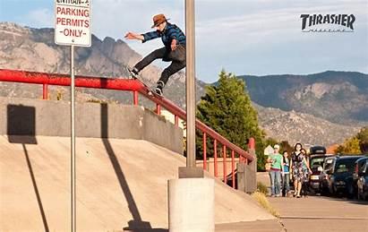 Thrasher Magazine Wallpapers Skate Skateboarding Skateboard Backgrounds