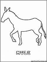 Mule Coloring Pages Outline Donkey Cartoon Colouring Horse Printable Pack Fun Getcoloringpages Getcolorings Colorings Animal Carcabin Wild sketch template
