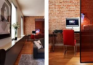 Mur Brique Salon : salon mur brique apparente picslovin ~ Zukunftsfamilie.com Idées de Décoration