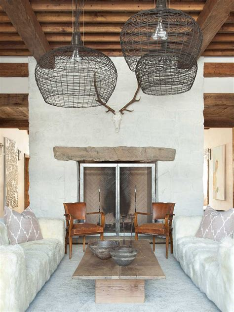 rustic chic revival  classic cabin  eclectic details